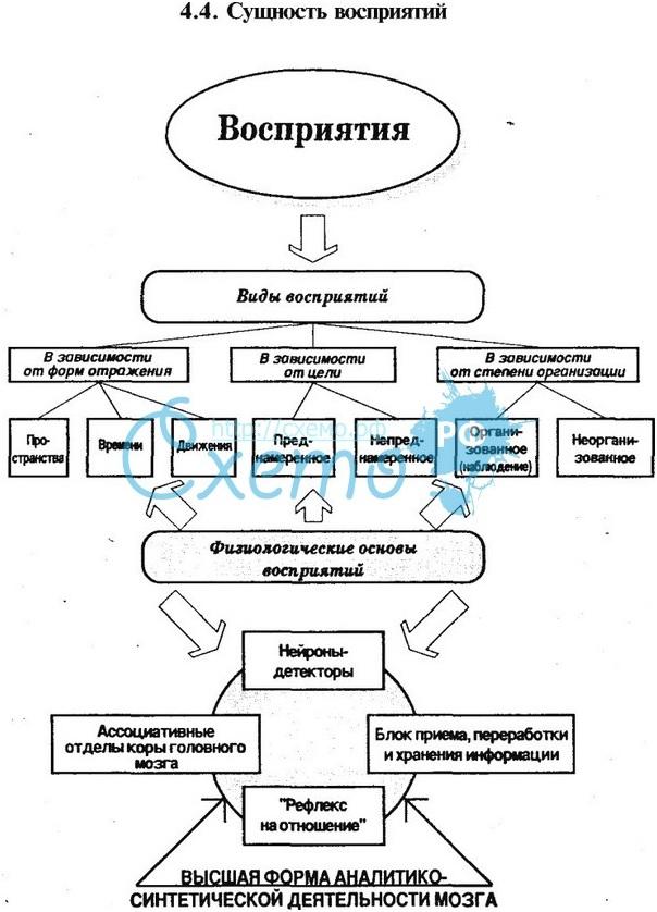 Схема образов по психологии